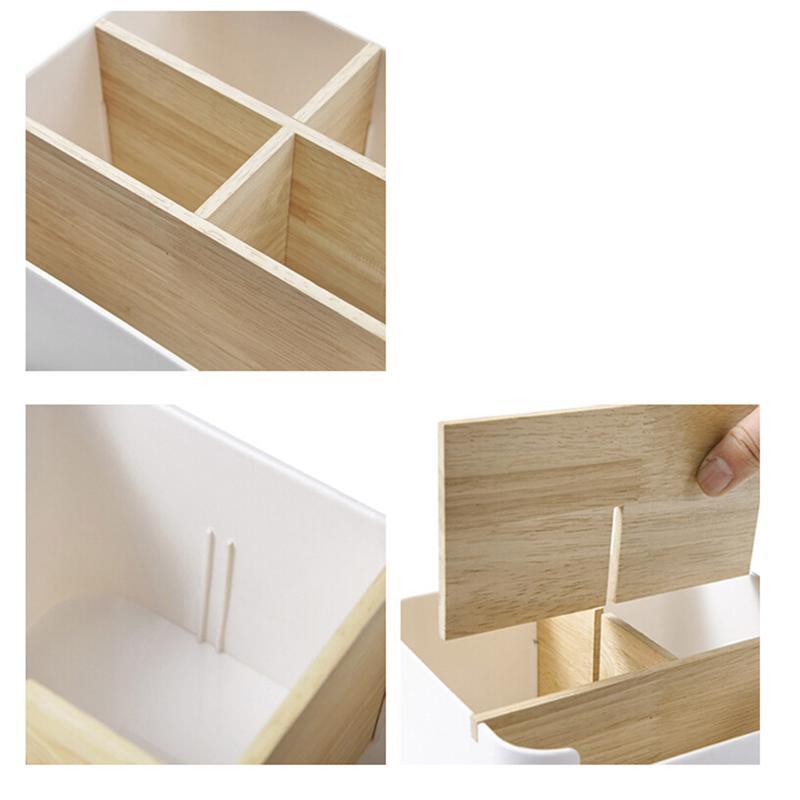 5 Compartment Storage Box Stationery Holder Table Organizer  4