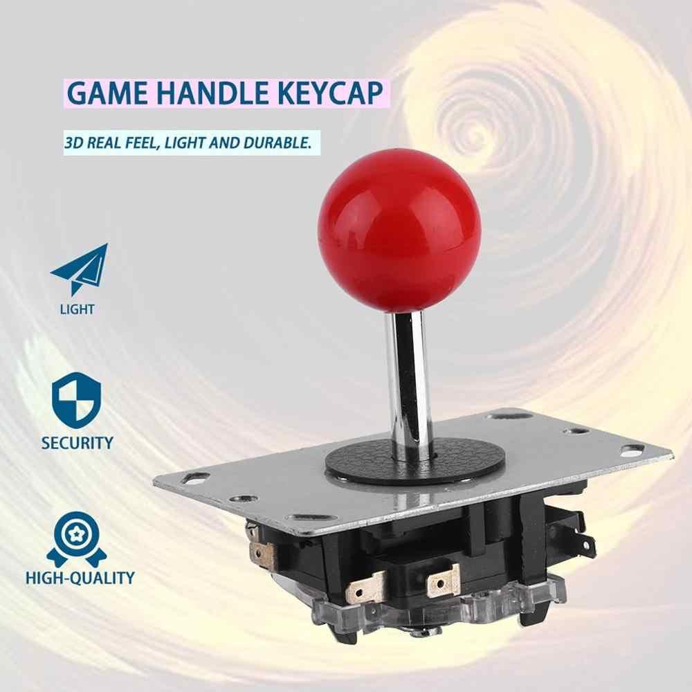 8 Vie Regolabile Joystick Arcade Joystick con La Sfera Top Fai da Te Bastone di Combattimento Joystick di Ricambio per Video Game Arcade Molto Robusto contro