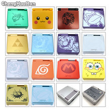ChengHaoRan Cartoon Limited Edition Full Housing Shell for Nintendo Gameboy Advance SP for GBA SP Game Console Cover Case