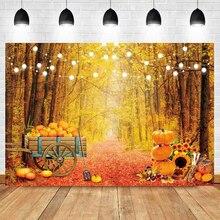 الخريف موسم الحصاد القديم عجلة خشبية مستودع كومة قش اليقطين حفلة الطفل الداخلية التصوير خلفية الصورة خلفية