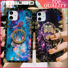 Musubo Vrouw Case Voor Iphone 12 Pro Max Mini X 11 Pro Max Xs Xr 7 8 Plus 6 Se vierkante Funda Zachte Siliconen Coque Back Cover Meisjes