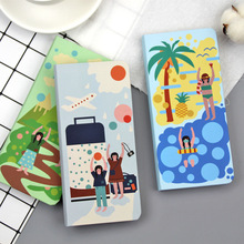 Cute Portable Travelers Hand Account Notebook Daily Weekly Planner Agenda 2020 Schedule Bullet Journal School office stationery magnetic buckle office notebook stationery school notebook planner daily weekly planner cute animals diary bullet journal defter