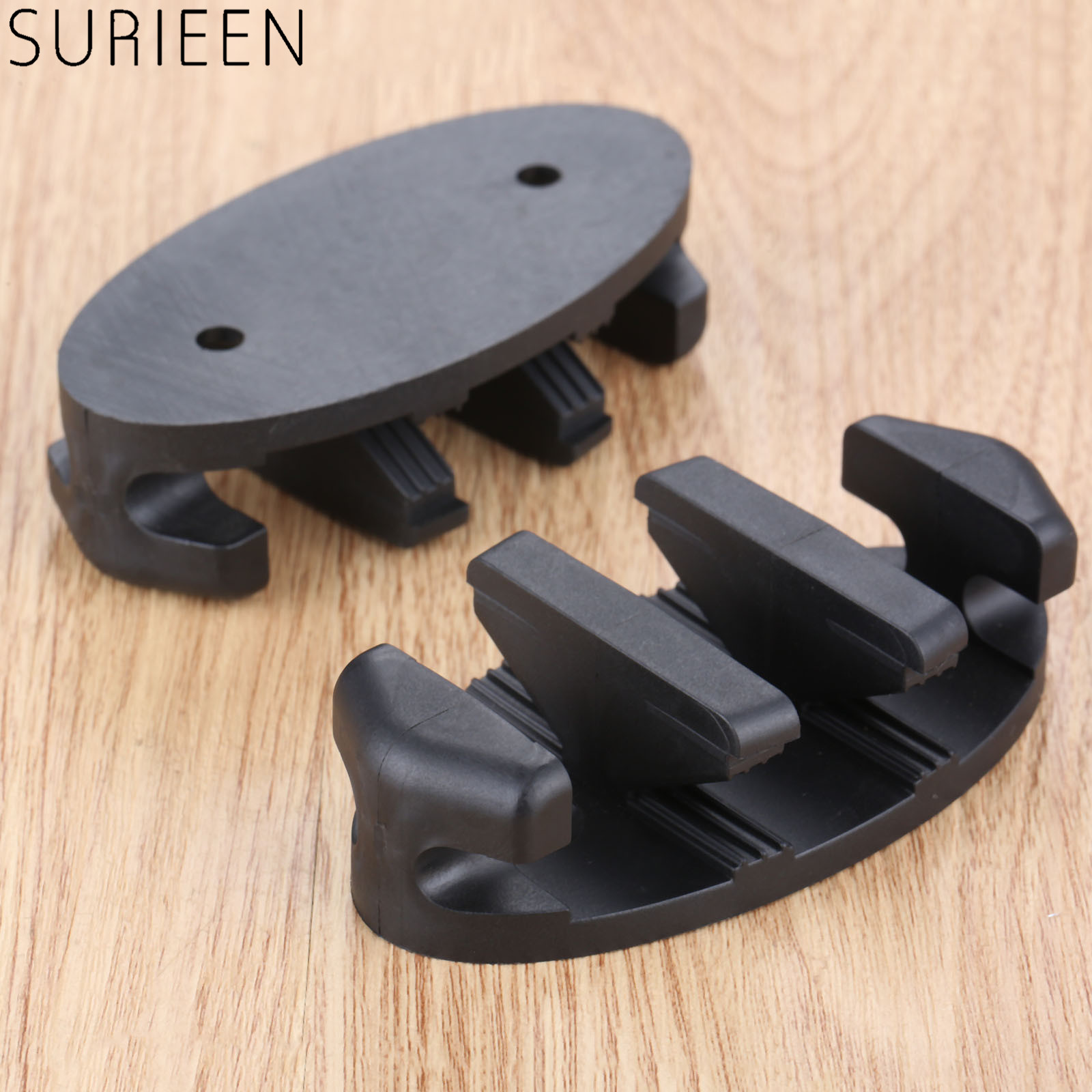 SURIEEN 1Pc Outdoor Water Sports Zig Zag Anchor Cleat For Kayak Dock Truck Trailer Boats Canoes Accessories Marine Secure Anchor