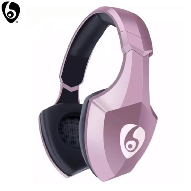 OVLENG S33 Over Ear Bass cuffie Stereo Bluetooth cuffie Wireless supporto Micro SD/TF Card Radio FM microfono e LED