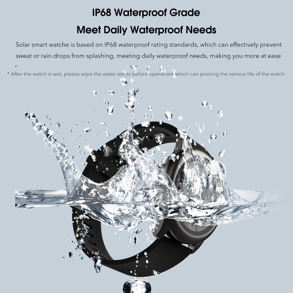 Xiaomi Haylou Solar Smart Watch Global Version IP68 Waterproof Sport fitness Bracelet LS05 Smartwatch Women Men For Android iOS 3