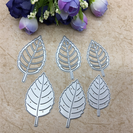 6 Leaf Carbon Steel Cutter Die Scrapbooking Paper Craft Album Card Punch Knife Art Cutter Die