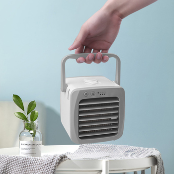 Dropship Vip Portable Mini Air Conditioner Fan Home Office Personal Space Fan Cooler USB Arctic Cooling The Quick Easy Way Cool 1