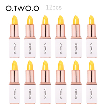 O.TWO.O  Colors Ever-changing Lip Balm Hygienic Moisturizing Pink Lipstick Anti Aging Makeup Kit Lip Care 12pcs/set