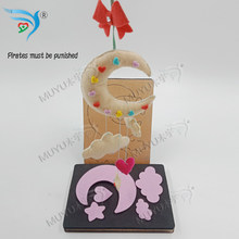 Baby stroller hanging, moon and wooden die star cutting leading mold YT0251(China)