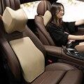 Автомобильный хлопковый подголовник с эффектом памяти  подушка для шеи  подушка для талии  ручная швейная Автомобильная подушка для Renault ...