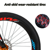 Love Freedom 24 speed 26 inch mountain bike bicycles double disc brakes student bike Bicicleta road bike Free Delivery 5