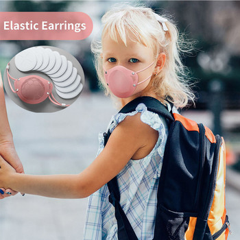 Child Boy Girl Silicone Mask Reusable Washable Mask Replaceable Filter Cotton Adult Anti Virus Adulte Lavable