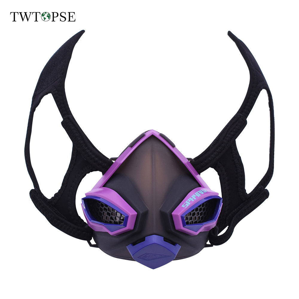TWTOPSE Sports Training Mask 4.0 Cycling Face Mask Fitness Workout Gym Exercise Running Bike Bicycle Mask Elevation Cardio Mask