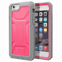 JOYLINK Heavy Duty Case For iPhone 6 6s Dual Layer Complete Protection Hybrid Case with Built-In Screen Protector