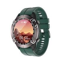 Biznes inteligentny zegarek dla mężczyzn DK60 pulsometr wybierania połączeń wiadomość Push w pełni z okrągłych ekranów Smartwatch dla IOS i systemem Android