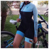 2020 pro equipe triathlon terno feminino camisa de ciclismo skinsuit macacão maillot ciclismo roupas ropa ciclismo conjunto rosa almofada gel 8