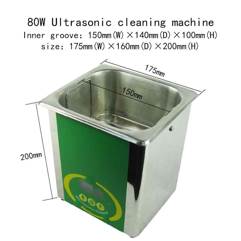 Machine de nettoyage de tête d'impression jet d'encre 80w Machine de nettoyage Ultasonic pour tête d'impression EP DX4 DX5 DX7