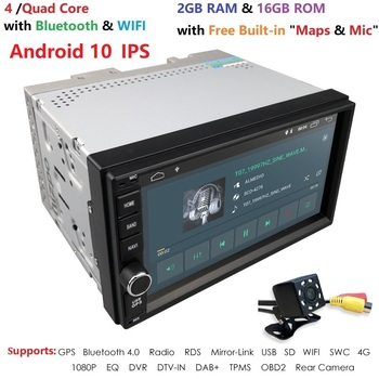WiFi/4G Quad core 2 din 7 inch android 10 universal Auto Player Juke qashqai almera x trail hinweis x-TRAIL für Nissan GPS gebaut-in