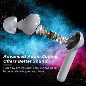 Image 5 - Mpow M21 TWS Earphone Bluetooth 5.0 Wireless Headphones 18 Hours Playing Tiem With Charging Case Touch Control Earbuds For Phone