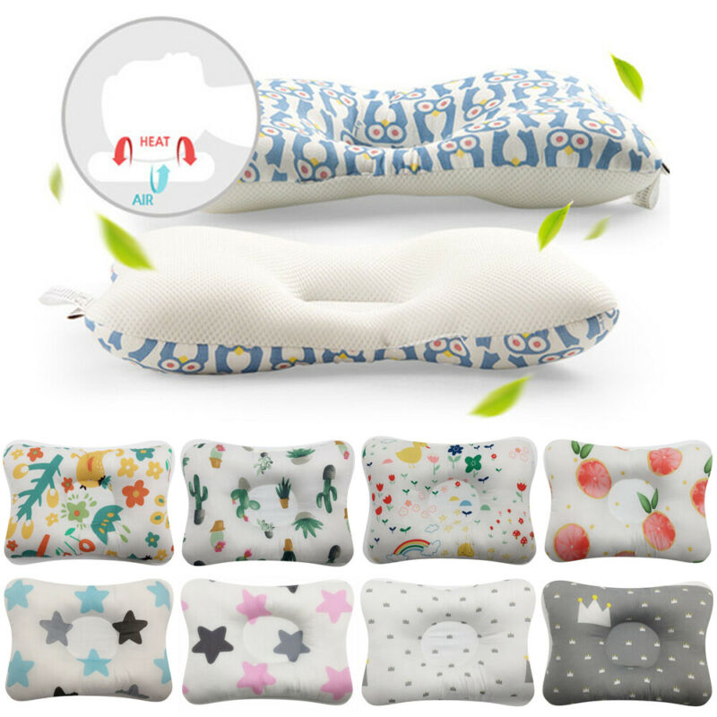 Baby Baby Pillows Newborn Head Protection Cushion Infant Sleep Positione Anti Roll Baby Pillows