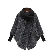 Свинг Воротник Верхняя одежда зимняя одежда женская куртка теплая шерстяная смесь женское элегантное шерстяное пальто для беременных женщин