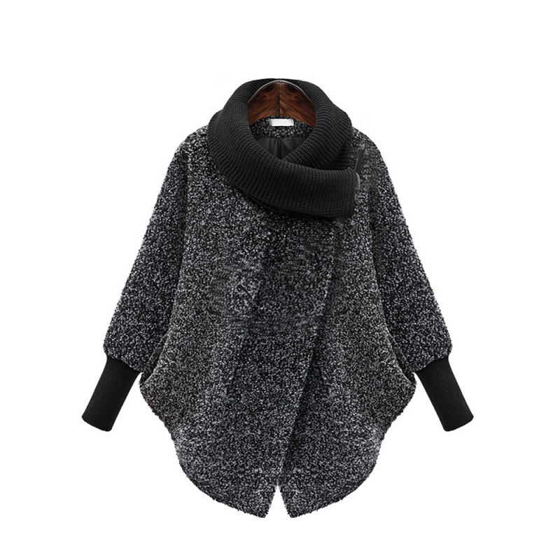 Maternity Scarf Collar Outerwear Winter Clothing Women's Jacket Warm Woolen Blends Female Elegant Woolen Pregnant Woman Coat