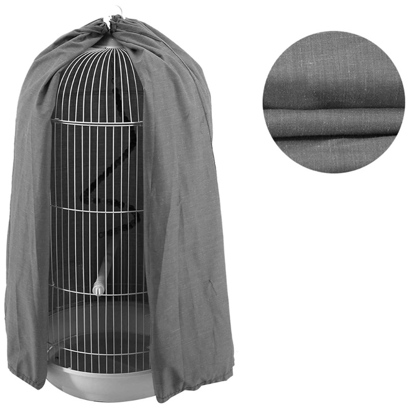 Classic Round Dome Top Bird Cage Shield Birdcage Light Covers Skirt Accessories