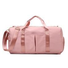 Handbag Women Shoe-Compartment Gym-Bag Sport-Bags Fitness-Training Sac-De-Sport Yoga