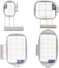 4 الأطواق لآلة التطريز Brother Duetta 4500D 4750D Quattro 6000D 6700D Innov is 2500D 1500D 4000D(SA437 ، SA438 ، SA439 ، SA441)