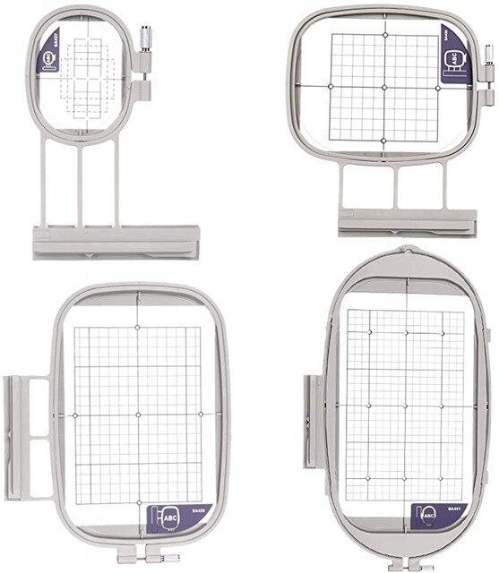 4Hoops for Brother Embroidery Machine Duetta 4500D 4750D Quattro 6000D 6700D Innov is 2500D 1500D 4000D(SA437,SA438,SA439,SA441)