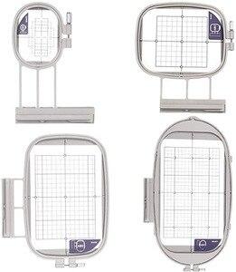 Image 1 - Brother, 4 cerceaux pour Machine à broder, pour appareil à broder Duetta 4500D 4750D Quattro 6000D 6700D inno is 2500D 1500D 4000D(SA437,SA438,SA439,SA441)