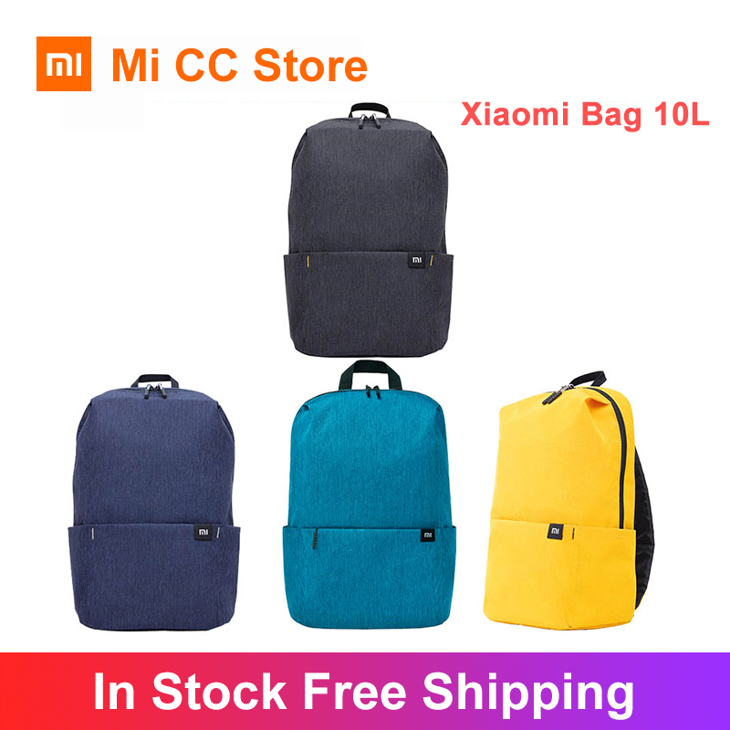 Original Xiaomi Bag 10L Backpack Casual Sports Chest Bag For Boys And Girls Small Size Shoulder Bag Colorful Backpack For Phones