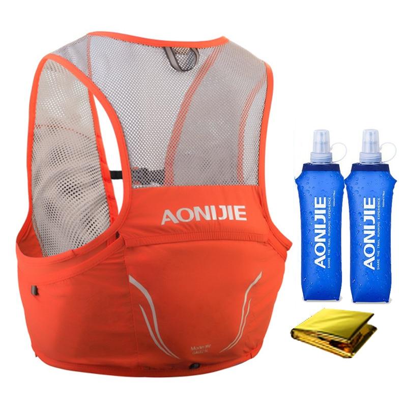 Aonijie 2.5L Running Vest Lightweight running Backpack Breathable Cycling Marathon Portable Ultralight Nylon Hiking Sport bag