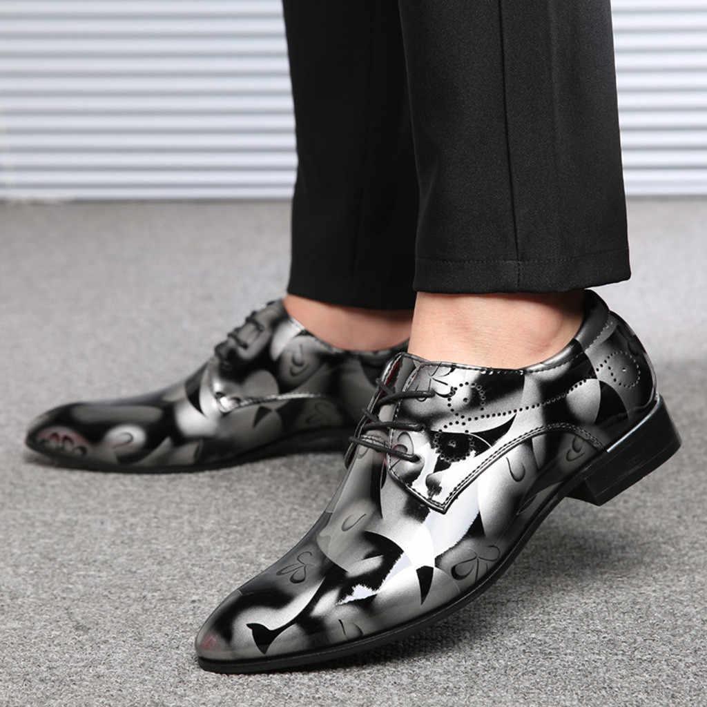 Kahverengi elbise düğün ayakkabı erkekler resmi İtalyan patent deri ayakkabı erkekler için kuaför zarif ayakkabı erkekler klasik zapatos hombre bona