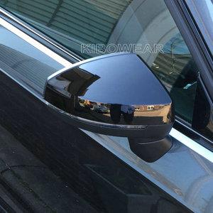 Image 3 - Lato nero Protezione Dello Specchio Coperture per Audi A3 S3 8V RS3 2013 2014 2015 2016 2018 2017 2019 Sostituire (Lucido Perla Nera)