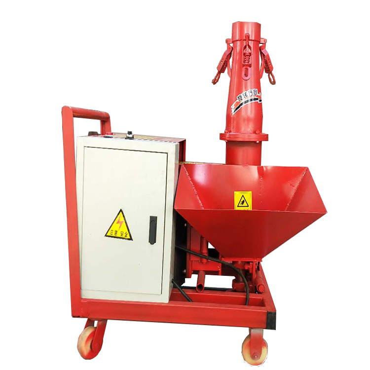 Secondary Structure Feeder Concrete Pump Small Inclined Secondary Construction Column Pump Pouring Machine Mortar