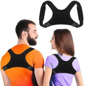 Corrector Back-Support-Belt Men Corset Posture Adjust Women Shoulder for Unisex Magnetic