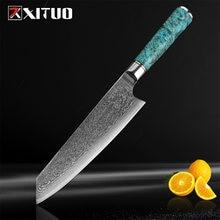 Xituo 1 шт Дамасская сталь vg10 8 дюймовый шеф нож профессиональные