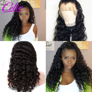 Image 3 - Celie Loose Deep Wave Wig 28 30 Inch Lace Front Human Hair Wigs For Black Women 360 Lace Frontal Wig PrePlucked Human Hair Wigs
