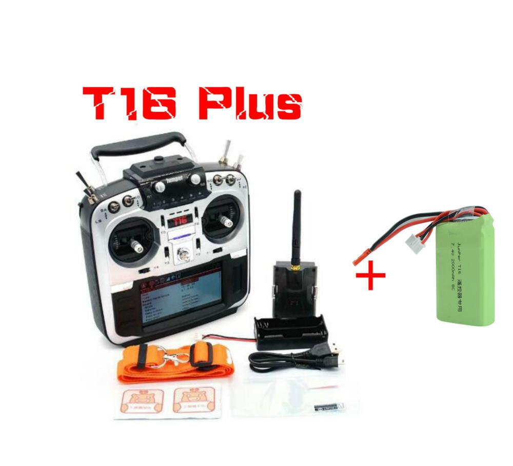 Image 2 - Jumper T16 pro T16 Plus Hall Gimbal Open Source Multi protocol Radio Transmitter JP4 in 1 RF Module 2.4G 16CH Remote controller-in Parts & Accessories from Toys & Hobbies