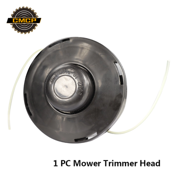 CMCP Nylon Brush Mower Bump Spool Grass Trimmer 2 Lines Cutter Head Thread Line String Saw Grass Brush Mower