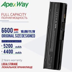 Image 1 - 6600 mAh 11.1V New Laptop Battery For hp pavilion CQ72 CQ57 CQ62 CQ43 300 For HP Pavilion G4 g6 G7 G32 593553 001 G56 G62 MU06
