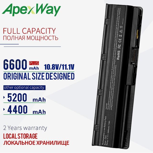 6600 mAh 11.1V New Laptop Battery For hp pavilion CQ72 CQ57 CQ62 CQ43 300 For HP Pavilion G4 g6 G7 G32 593553 001 G56 G62 MU06