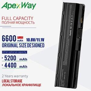 Image 1 - 6600 mAh 11.1V 노트북 배터리 hp pavilion CQ72 CQ57 CQ62 CQ43 300 용 hp Pavilion G4 g6 G7 G32 593553 001 G56 G62 MU06