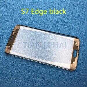 Image 4 - ด้านหน้าด้านนอกกระจกเปลี่ยนเลนส์สำหรับ Samsung Galaxy S7 EDGE G935 G935F G935FD S6 EDGE G925F LCD & b 7000 กาวเครื่องมือ