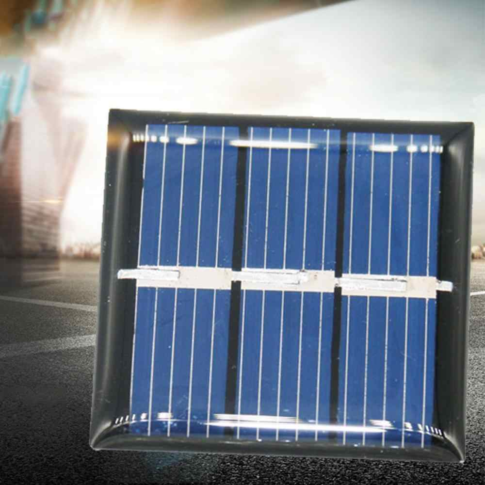 2 uds 1,5 V 60mA Panel Solar de silicio policristalino cargador de batería DIY Módulo de carga de energía Mini célula Solar nuevo