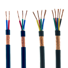 5 미터 RVVP 차폐 케이블 신호 전선 제어 신호선 2/3/4/5 핀 0.3 0.5 0.75 1 1.5 2.5mm 구리선