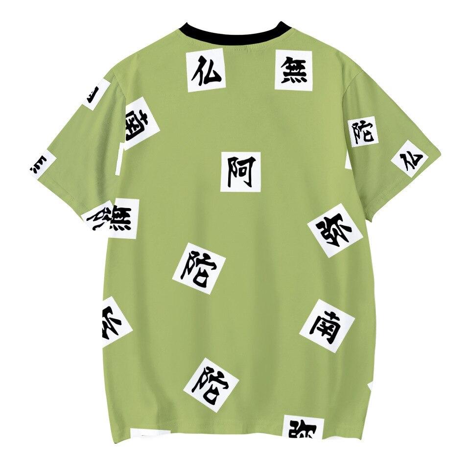 Kids Boys Devils killer T-shirts 3d Print Cosplay Japanese Ghost blade Children Summer Short Sleeve Tshirts Demon Slayer Clothes