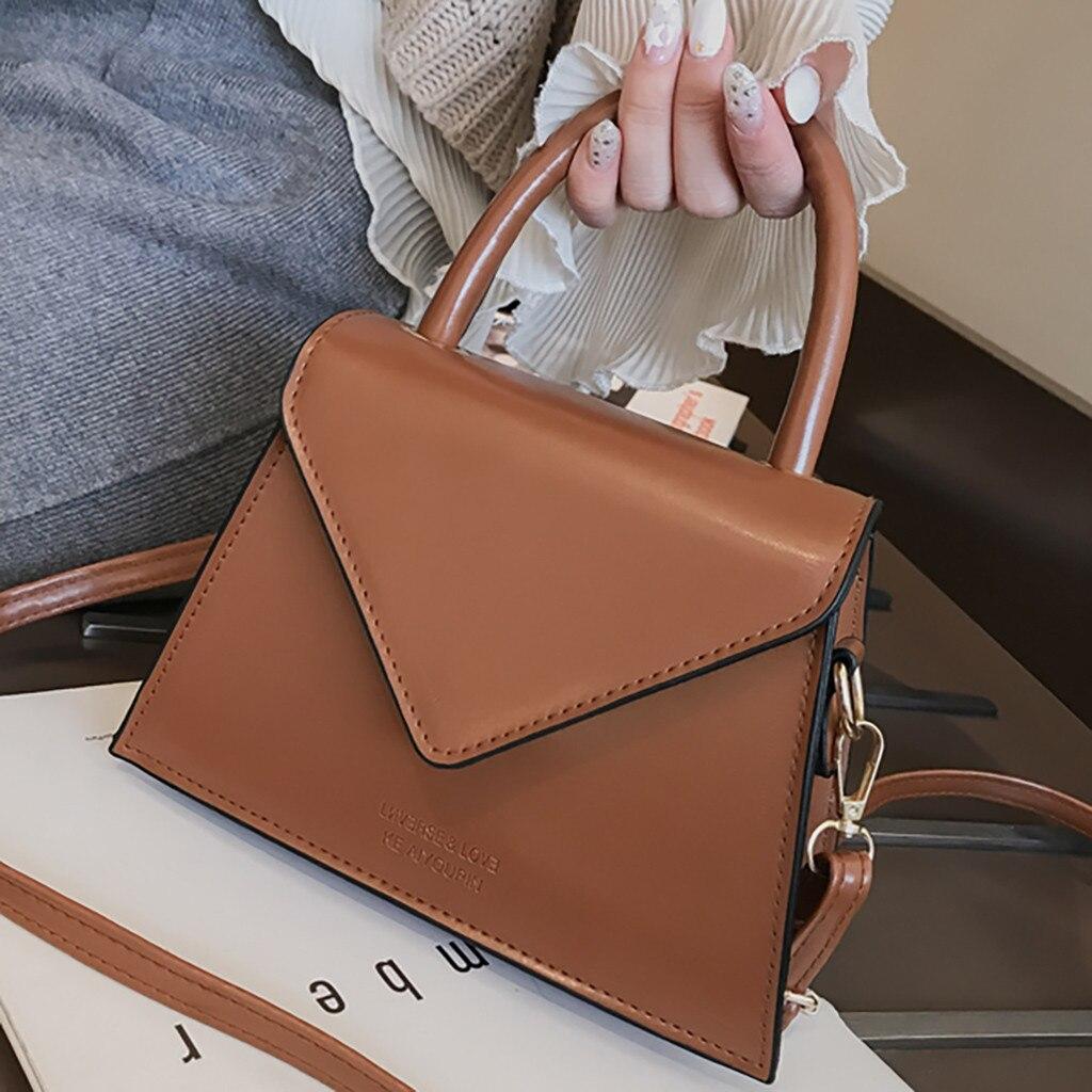 Pattern Shoulder Messenger Bag Luxury Handbags Women Bags Designer Handbags Women 2020 New PU Leather Purse Sac#p30#