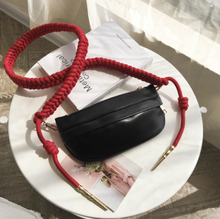 waist bag Women Mini Size Fanny Pack Pu Leather Fashion Waist secret stash  fanny pack for women Barrel-shaped